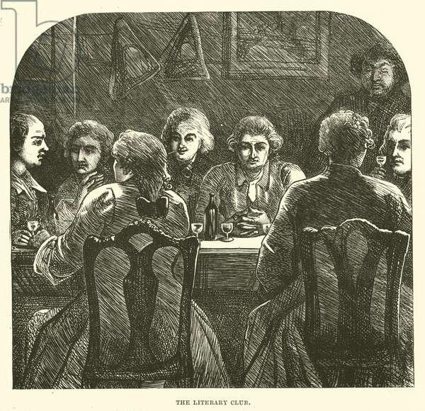 The Literary Club (engraving)