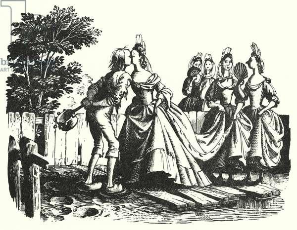 Hans Christian Andersen: The Swineherd (litho)