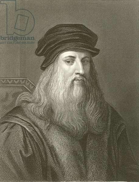 Leonardo Da Vinci (engraving)