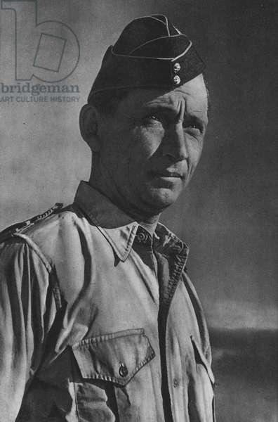 Air Chief Marshal Sir Arthur W Tedder, GCB, Deputy Supreme Commander Allied Expeditionary Force (b/w photo)