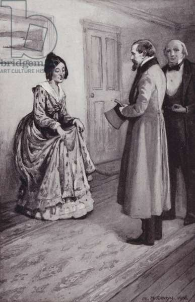 Illustration for American Notes by Charles Dickens (litho)