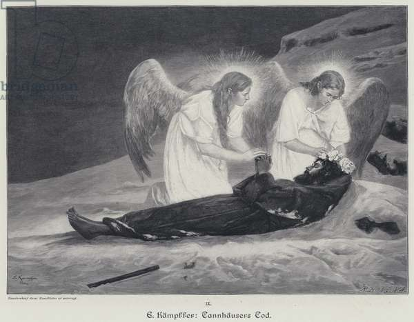 The Death of Tannhauser (engraving)