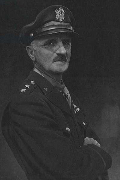Lieutenant-General Ira C Eaker, Commander of the Mediterranean Allied Air Forces (b/w photo)