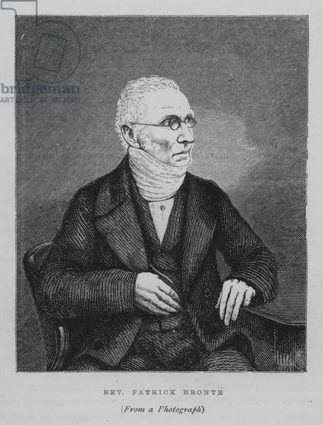 The Reverend Patrick Bronte (engraving)