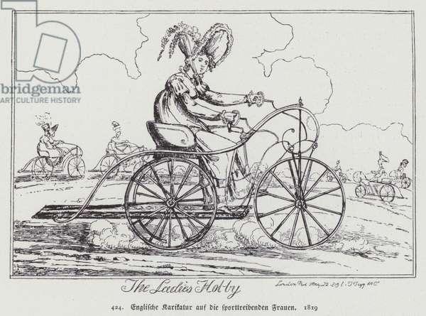 The Ladies Hobby, 1819 (litho)