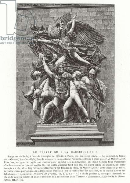 The Departure, or La Marseillaise (engraving)