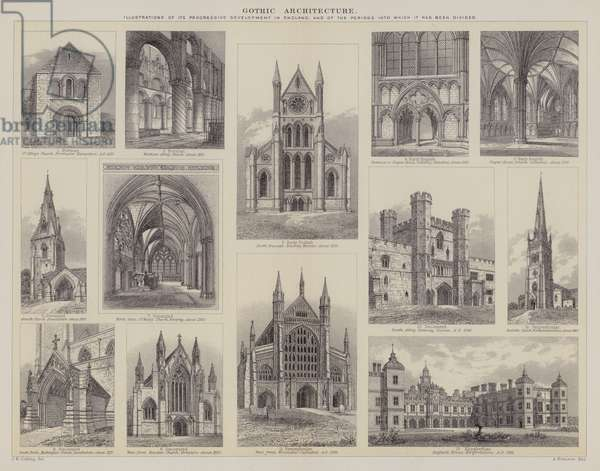 Gothic Architecture (engraving)