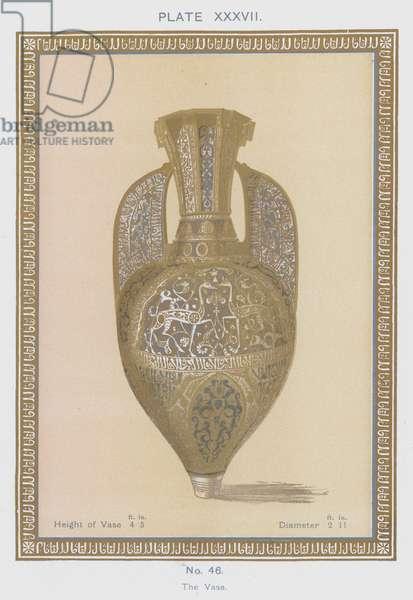 The Vase (colour litho)