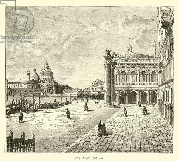The Molo, Venice (engraving)