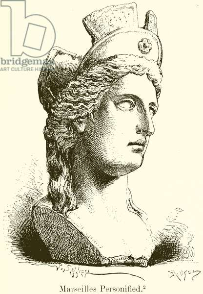 Marseilles Personified (engraving)