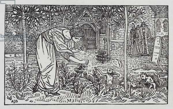 Hans Christian Andersen: The Wild Swans (litho)