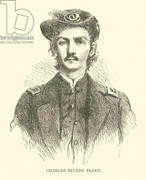 Charles Rivers Ellet, 1862 (engraving)