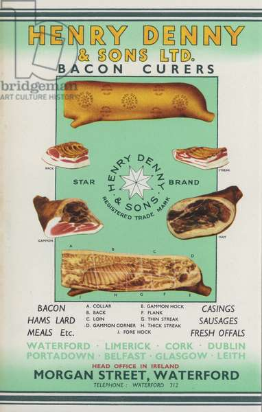 Page from Army and Navy Stores Catalogue, 1939-40 (colour litho)