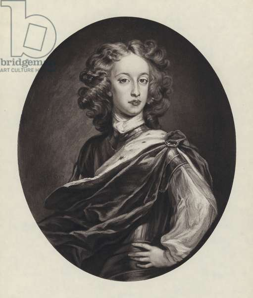 William, Duke Of Gloucester, Son of Queen Anne (litho)
