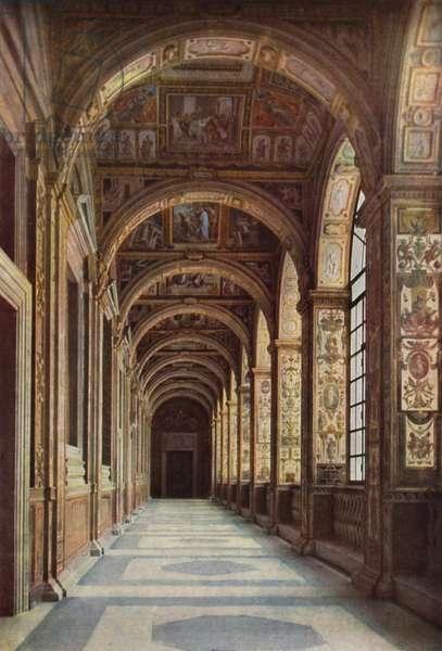 Vaticano, Loggia di Raffaello, Vatican, Loggia decorated by Raffaello (colour photo)