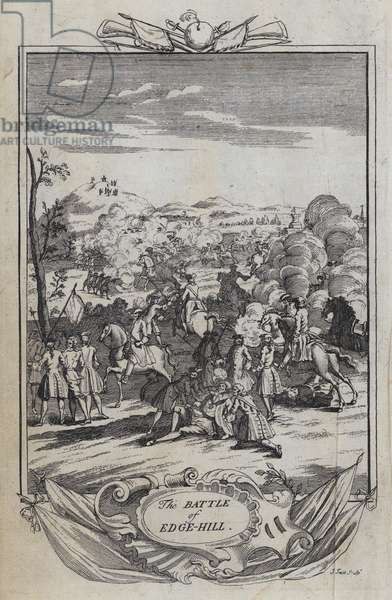 The Battle of Edge Hill (engraving)