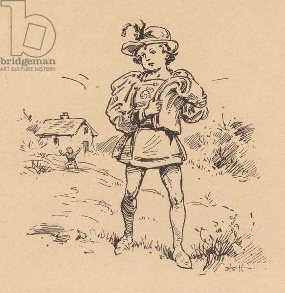 Taffy Was a Welshman (litho)