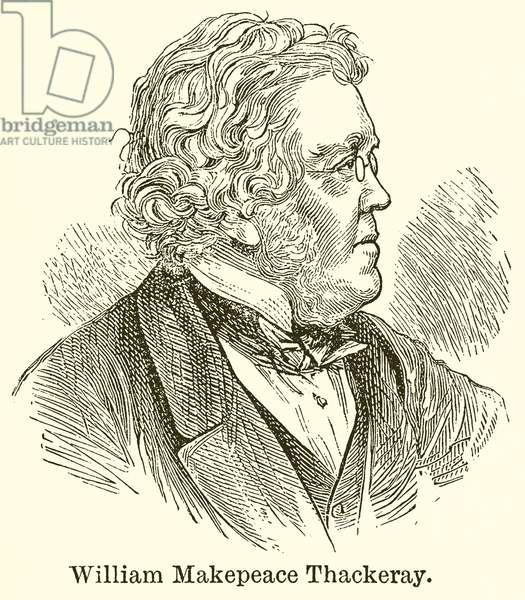 William Makepeace Thackeray (engraving)
