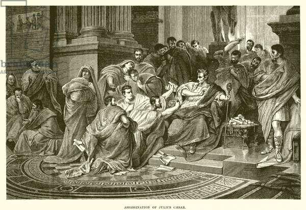 Assassination of Julius Caesar (engraving)