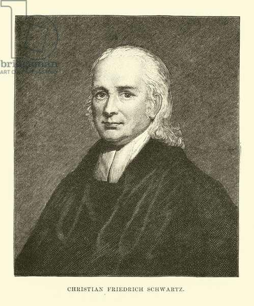 Christian Friedrich Schwartz (engraving)