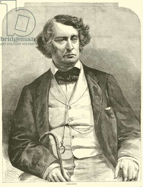 Charles Sumner, March 1864 (engraving)