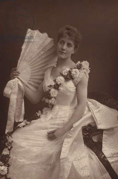 Miss Maude Millett (b/w photo)