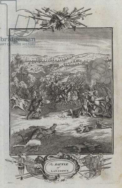 The Battle of Lansdown (engraving)