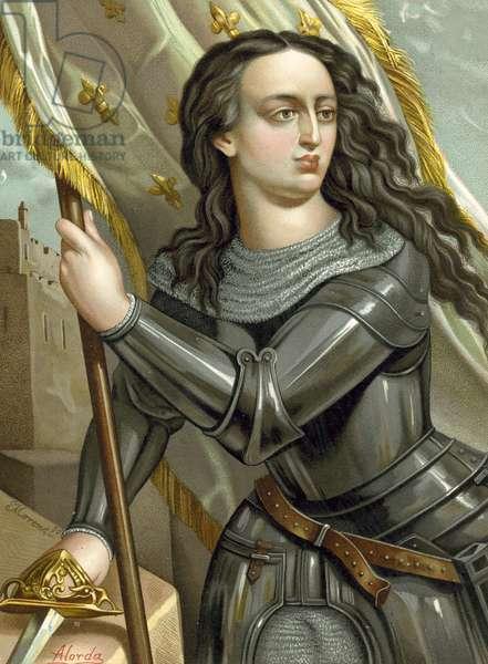 Joan of Arc (chromolitho)