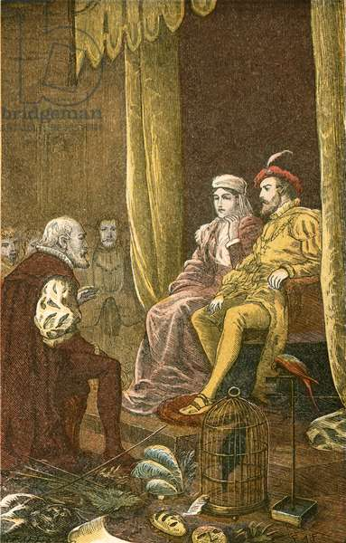 Columbus received by Ferdinand and Isabella