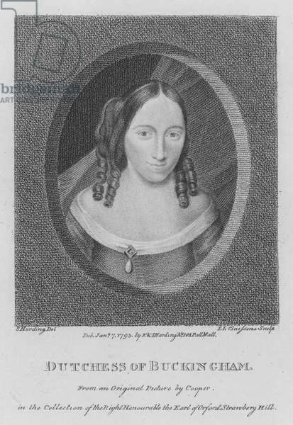 Dutchess of Buckingham (engraving)