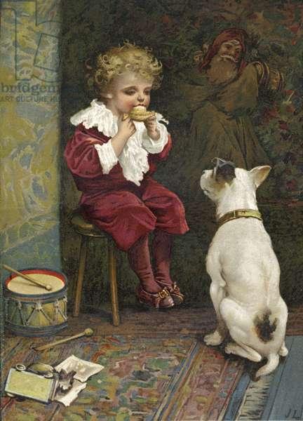 Little Jack Horner (chromolitho)