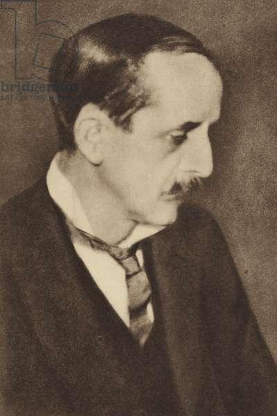J M Barrie, Scottish novelist and playwright (b/w photo)