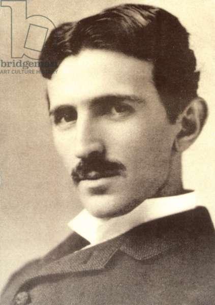 Nikola Tesla (b/w photo)