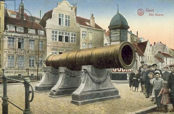 Dulle Griet, Ghent, Belgium (colour photo)