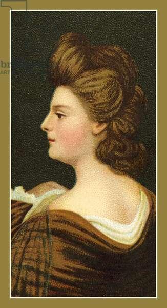 Portrait of a Lady, by Sir Joshua Reynolds (colour litho)