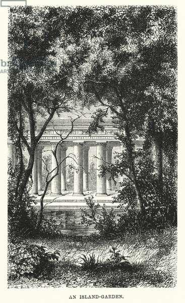 An Island-Garden (engraving)