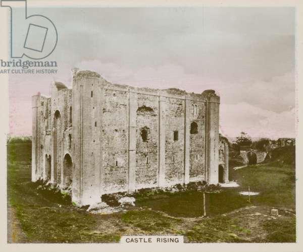 Castle Rising (coloured photo)