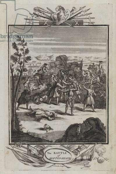 The Battle of Hopton Heath (engraving)