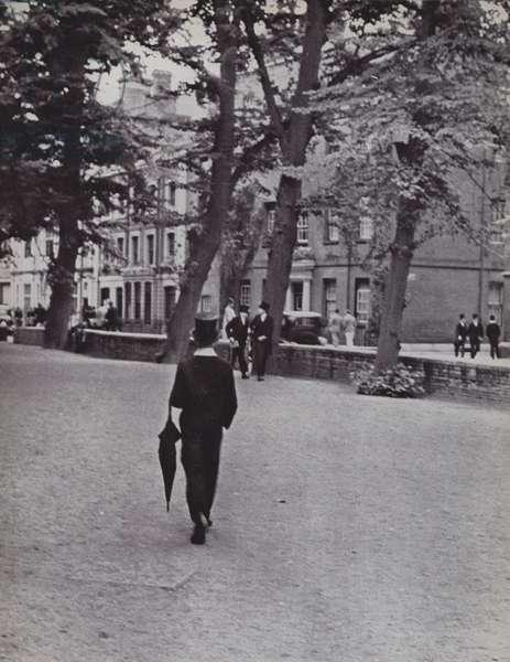 Eton, Between Schools (b/w photo)