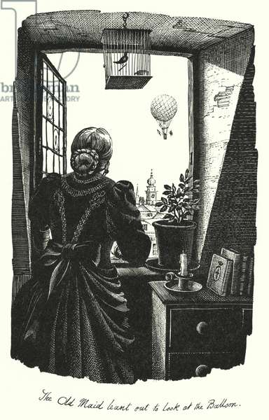 Hans Christian Andersen: The Bottle Neck (litho)