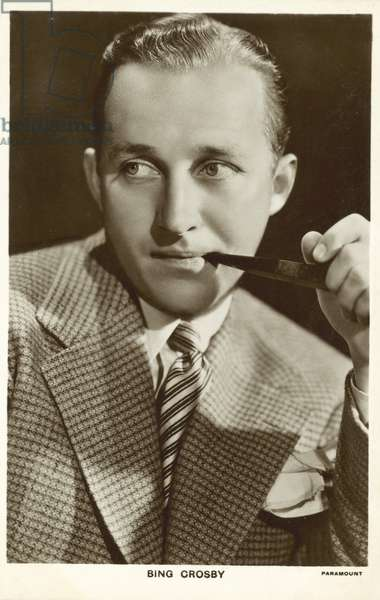 Bing Crosby (b/w photo)
