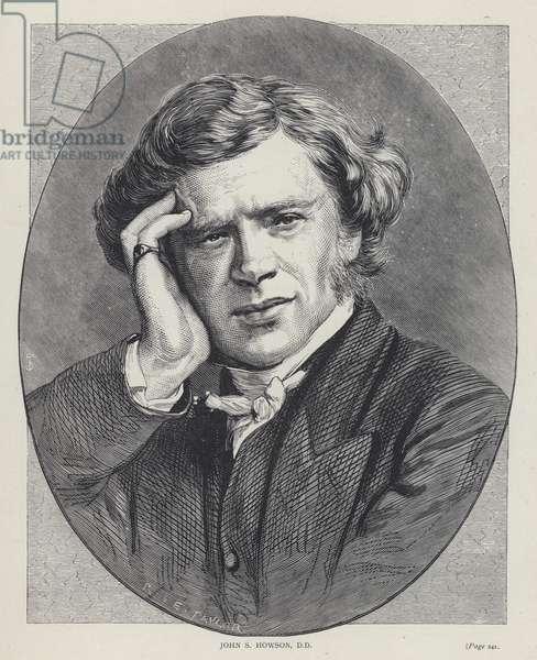 John S Howson, DD (engraving)