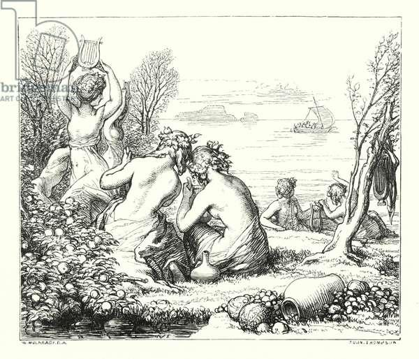The Sea-Fairies (engraving)