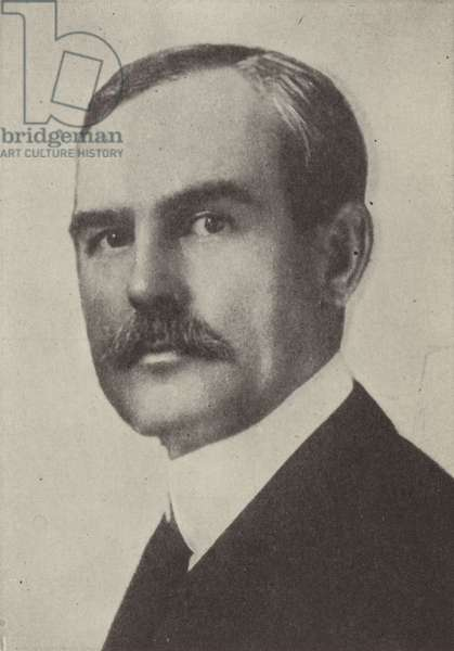 John D Ryan, American industrialist appointed Chairman of the Aircraft Production Board after the United States entered the First World War (b/w photo)