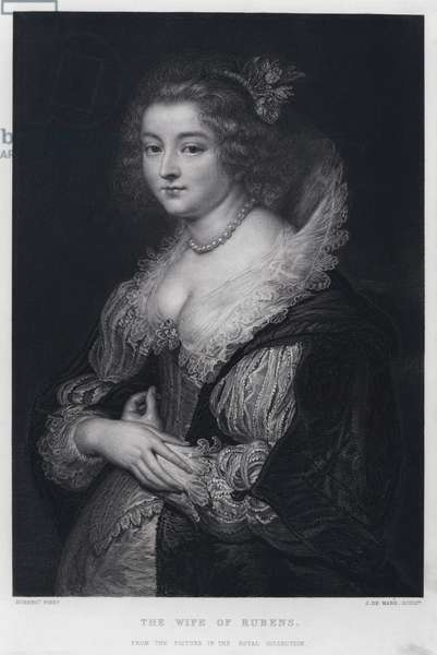 The Wife of Rubens (engraving)