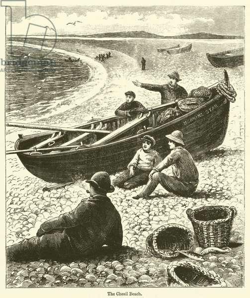 The Chesil Beach (engraving)