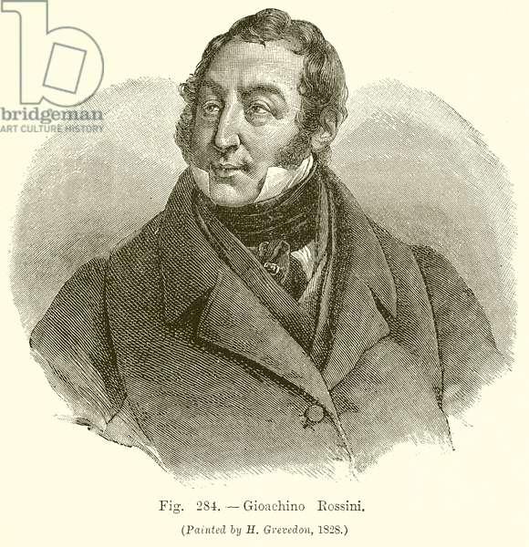 Gioachino Rossini (engraving)