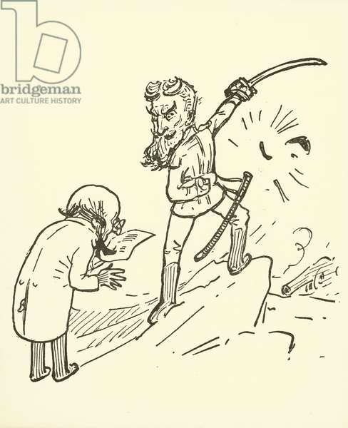 George Bernard Shaw (litho)
