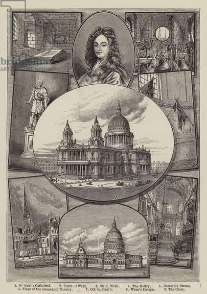 St Paul's Cathedral (engraving)