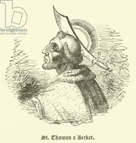 St Thomas a Becket (engraving)